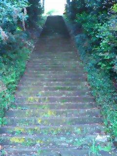 今日は「階段」練習!
